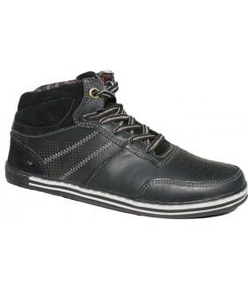 Ботинки 203-1 black nappa